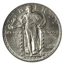 UNITED STATES Silver Coin STANDING LIBERTY QUARTER (1916 - 1930)